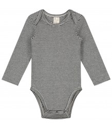 Baby L/S Onesie Gray Label Baby L/S Onesie black cream
