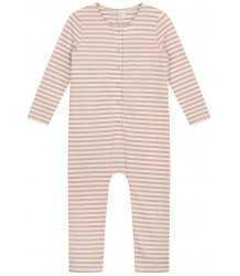 Gray Label LS Playsuit STRIPED Gray Label LS Playsuit STRIPED rustic clay cream