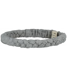 Braid Headband Gray Label Braid Headband grey melange