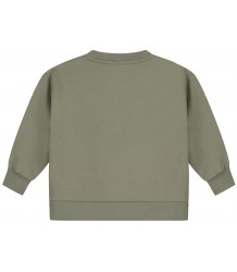 Boxy Sweater Gray Label Boxy Sweater moss groen