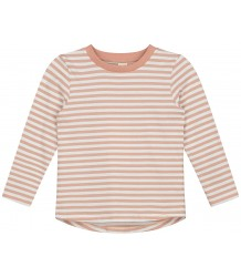 STRIPED L/S T-shirt (New Fabric) Gray Label STRIPED L/S T-shirt (New Fabric) rustic clay cream