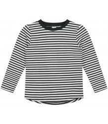 STRIPED L/S T-shirt (New Fabric) Gray Label STRIPED L/S T-shirt black cream