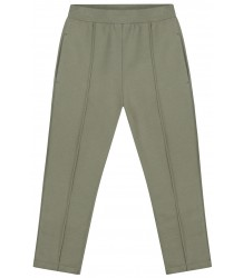 Slim Fit Trousers Gray Label Slim Fit Trousers moss green