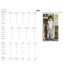 Culotte Gray Label sizing