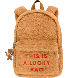 Tiny Cottons LUCKY BAG Sherpa Backpack Tiny Cottons LUCKY BAG Sherpa Backpack