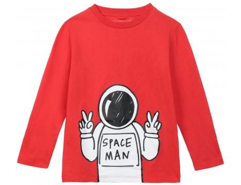 Stella McCartney Kids LS Tee SPACEMAN