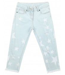 Stella McCartney Kids Lohan Boyfriend Denim STARS Stella McCartney Kids Lohan Boyfriend Denim STARS