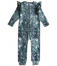 Romey Loves Lulu Ruffle Space Suit GLITTER Romey Loves Lulu Ruffle Space Suit GLITTER