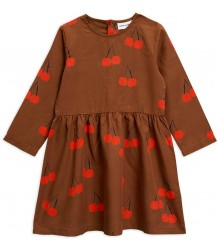 Mini Rodini CHERRY Woven LS Dress Mini Rodini CHERRY Woven LS Dress
