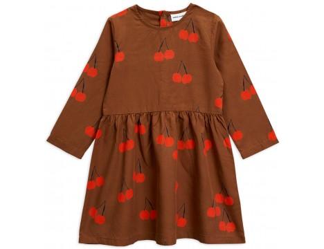 Mini Rodini CHERRY Woven LS Dress