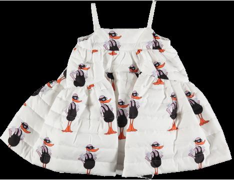 Caroline Bosmans Mat Bather Matelasse Maxi Wide Dress DUCK