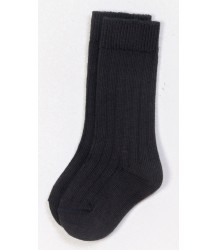 Play Up Ribbed Knee Socks PLAY UP Ribbed Knee Socks anthracite