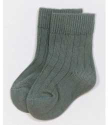 PLAY UP Ribbed Short Socks PLAY UP Ribbed Short Socks olive