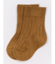 Play Up Ribbed Short Socks PLAY UP Ribbed Short Socks mustard