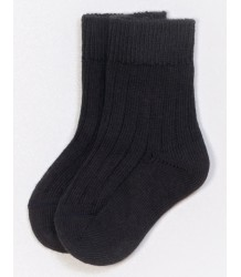 PLAY UP Ribbed Short Socks PLAY UP Ribbed Short Socks antracite