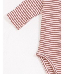 Play Up STRIPED Bodysuit PLAY UP STRIPED Rib Bodysuit