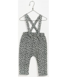 Play Up Jacquard Dungaree Pants GRASS PLAY UP Jacquard Jumpsuit GRASS