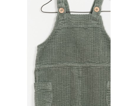PLAY UP Corduroy Dungaree Jumpsuit
