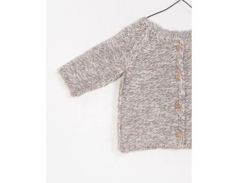 PLAY UP Knitted Cardigan