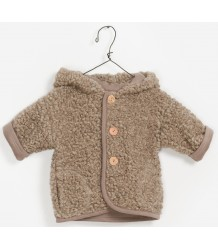 Play Up Plush Hooded Jacket PLAY UP Plush Hooded Jacket taupe melange