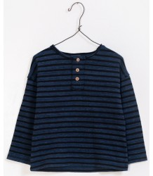 Play Up Striped Knitted T-shirt PLAY UP Striped Knitted T-shirt