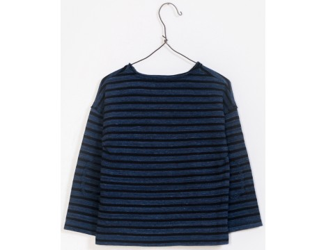 PLAY UP Striped Knitted T-shirt
