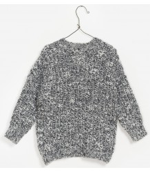 PLAY UP Heavy Knitted Jumper PLAY UP Heavy Knitted Jumper grey melange