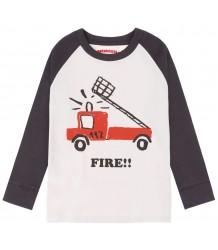 Nadadelazos Baseball T-shirt FIRE BRIGADE Nadadelazos Baseball T-shirt FIRE BRIGADE