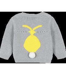 Stella McCartney Kids Thumper Baby Jumper KONIJN Grijs Geel Thumper Baby Jumper BUNNY Grey Yellow
