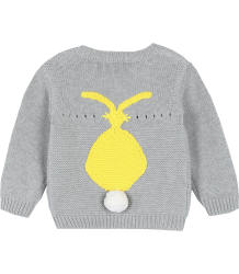 Stella McCartney Kids Thumper Baby Trui KONIJN Grijs Geel Thumper Baby Jumper BUNNY Grey Yellow