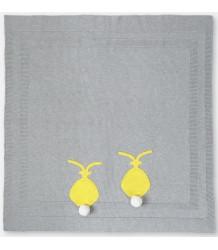 Stella McCartney Kids Snowball Gebreide Baby Deken KONIJN Stella McCartney Kids Snowball Knit Blanket Knit BUNNY