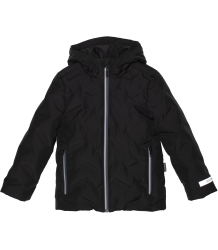 Black Bird Unisex Waterproof Padded Jacket Gosoaky Black Bird Unisex Waterproof Padded Jacket
