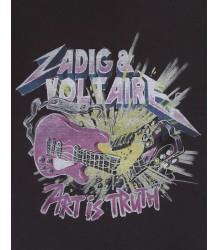 Zadig & Voltaire Kids Kita T-shirt ART IS ROCK Zadig & Voltaire Kids Kita T-shirt ART IS ROCK