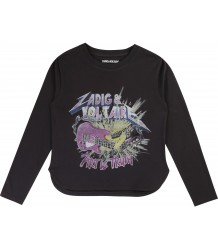 Zadig & Voltaire Kids Kita T-shirt ART IS ROCK Zadig & Voltaire Kids Kita T-shirt ART IS ROCK