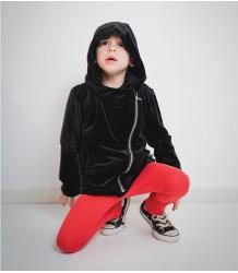 Nununu Velvet Biker Jacket Nununu Velvet Biker Jacket black