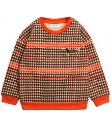 Mini Rodini HOUNDSTOOTH Sweatshirt Mini Rodini HOUNDSTOOTH Sweatshirt