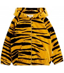 Mini Rodini Velour Zip Hood TIGER Mini Rodini Velour Zip Hood TIGER