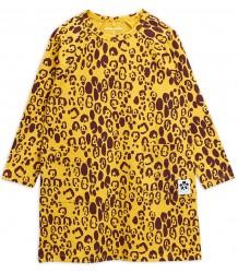 Mini Rodini LEOPARD LS Dress Mini Rodini LEOPARD LS Dress