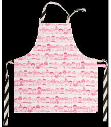 La Cerise sur le Gâteau Apron Mini Faces La Cerise sur le Gateau, Apron Mini Faces, neon pink