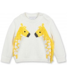 Stella McCartney Kids Baby Jumper w/ GIRAFFE Stella McCartney Kids Baby Jumper w/ GIRAFFE
