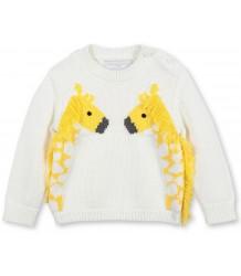 Stella McCartney Kids Knitted Baby Jumper w/GIRAFFE Stella McCartney Kids Baby Jumper w/ GIRAFFE