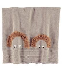 Stella McCartney Kids Snowball Gebreide Baby Deken EGEL Stella McCartney Kids Snowball Knit Blanket HEDGEHOG