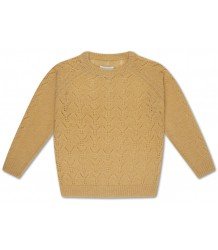 Repose AMS Knit Sweater AJOUR Pale Yellow Repose AMS Gebreide Trui AJOUR Zacht Geel