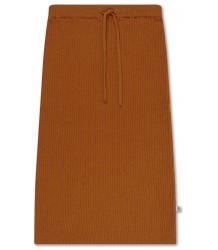 Repose AMS Knit Skirt Warm Rust Repose AMS Gebreide Rok Warm Roest