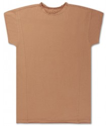 Repose AMS Tee Shirt Dress Butterscotch Repose AMS T-shirt Jurk Butterscotch