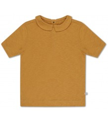 Repose AMS T-shirt w/COLLAR Sun Gold Repose AMS T-shirt m/KRAAG Zon Goud