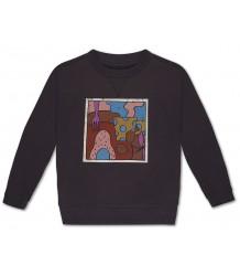 Repose AMS Sweater SCHILDERIJ Donker Grijs Repose AMS Sweater SCHILDERIJ Donker Grijs