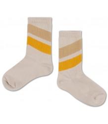 Repose AMS Socks Diagonal Sun-Sand Repose AMS Sokken Diagonaal Geel-Zand