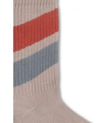 Repose AMS Sokken Diagonaal Rood-Blauw Repose AMS Socks Diagonal Red-Blue