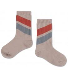 Repose AMS Socks Diagonal Red-Blue Repose AMS Sokken Diagonaal Rood-Blauw